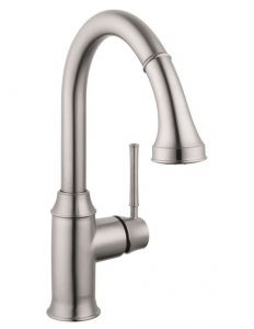 Hansgrohe - Talis C Series 2-Spray Prep Single Hole Pull-Down Kitchen Faucet