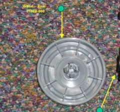 Nutone - Parts  Rear - Wheel
