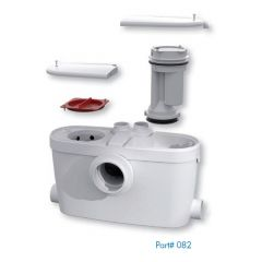 SaniFlo - External Macerators SANIACCESS3 Macerating Pump Only. - Sink And Shower/Bathtub Only - Sold Separately