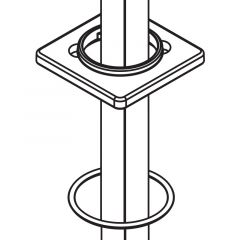 Moen - 90 Degree - Part - Escutcheon and Gasket Kit