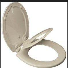 Bemis - Toilet Seat - Next Step Whisper Slow Close Elongated Toilet Seat w/Built-in Potty Seat