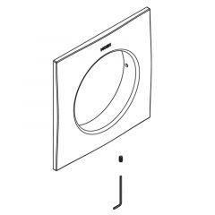 Moen - Square Trim Ring Escutcheon