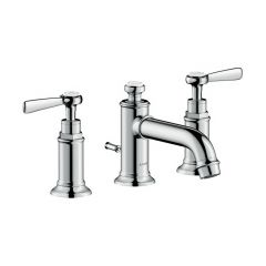 Axor - Montreux Series Widespread Faucet with Lever Handles Low Spout 1.2 GPM