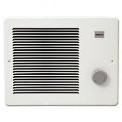 Broan - Heaters - 1125W 208VAC - 1500W 240VAC Wall Heater -  White - 750/1500W 120VAC