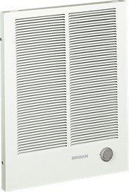 Broan - Heaters 1500/3000W 240VAC - 1125/2250W 208VAC High Capacity Wall Heater -Wall Heater