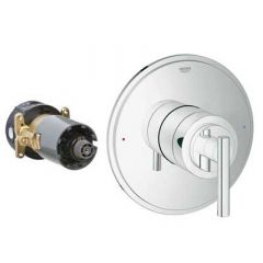 Grohe - Atrio Series Trim with Control Module Theromstatic - Single Function