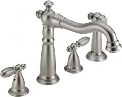 Delta - Victorian Series DIAMOND Seal Technology - Kitchen Faucet Two Handle