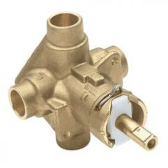 Moen - Rough-in Posi-Temp valve Valve - Copper Sweat - (Soldering) - No Stops Tub and/or Shower Valve