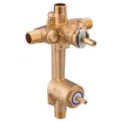 Moen - M-Pact Posi-Temp with diverter 1/2in CC IPS connection includes Pressure Balancing
