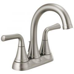 Delta - Kayra Two Handle Centerset Bathroom Faucet