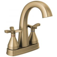 Delta - Stryke Two Handle Centerset Bathroom Faucet with Cross Handles