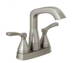 Delta - Stryke Centerset Bathroom Faucet with Lever Handles