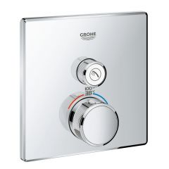 Grohe - Grohtherm Thermostatic Trim with Control Module SmartControl Single Function