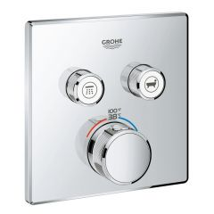 Grohe - Grohtherm Thermostatic Trim with Control Module SmartControl Dual Function