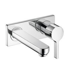 Hansgrohe - Metris S Series Wall-Mounted Single-Handle Bathroom Faucet Trim