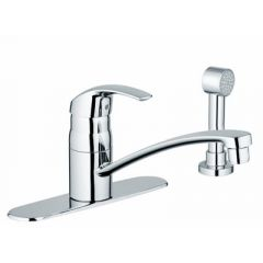 Grohe - Eurosmart Series Single Handle - with Side Spray Kitchen Faucet