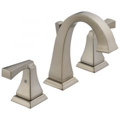 Delta - Dryden Two Handle Widespread Bathroom Faucet with Lever Handles