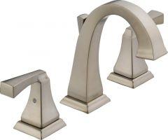Delta - Dryden Series Bathroom Faucet Two Handle Widespread