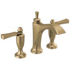 Delta - Dorval Two Handle Widespread Bathroom Faucet with Lever Handles