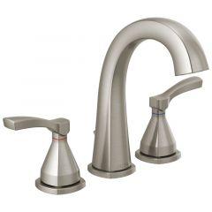 Delta - Stryke Two Handle Widespread Bathroom Faucet with Lever Handles