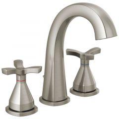 Delta - Stryke Two Handle Widespread Bathroom Faucet with Cross Handles