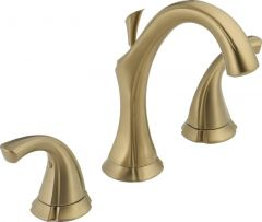 Delta - Addison Series Bathroom Faucet Widespread - Two Handle