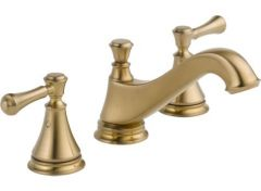Delta - Cassidy Series Low-Arc Widespread Faucet with Lever Handles