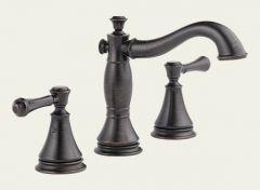 Delta - Cassidy Series Bathroom Faucet Two Handle - Widespread