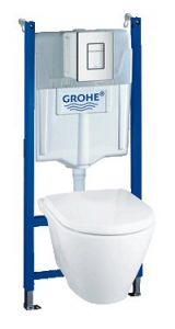 Grohe - Skate Cosmopolitian Series Vertical and horizontal installation For dual flush