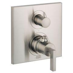 Axor - Citterio Series Volume Control Lever Handle Thermostatic Trim