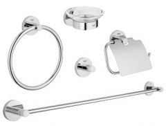 Grohe - Essentials 5-in-1 bathroom accessories set