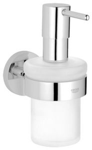 Grohe - Essentials Brushed Nickel Soap Dispenser with Holder