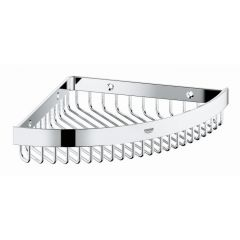 Grohe - Selection Cube Metal Corner Shelf
