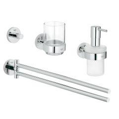 Grohe - Essentials 4-in-1 Bathroom Accessories Set