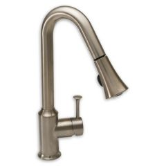 American Standard - Pekoe Series 2.2 gpm - 1-Handle Pull Down High-Arc  Kitchen Faucet