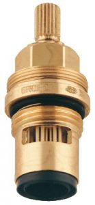 Grohe - Part 1/2in Cardodur 1/4 Turn Left Cold Stem