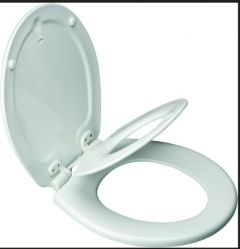 Bemis - Toilet Seat - Next Step Closed Front with Cover Built-In Potty Seat