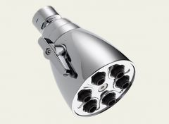 Delta - Universal Showering Metal Showerhead 1.5 gpm - Adjustable Spray