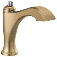 Delta - Dorval Single Handle Faucet Less Pop-Up, Less Handle