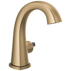 Delta - Stryke Single Handle Bathroom Faucet - Less Handle