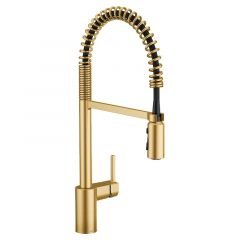 Moen - Align One Handle Pre-Rinse Pull-Down Restaurant Style Kitchen Faucet