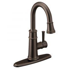 Moen - Belfield One-Handle High Arc Pulldown Bar Faucet