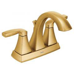 Moen - Voss Series High Arc Bathroom Faucet Centerset - Two - Handle