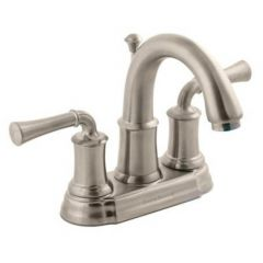 American Standard - Portsmouth Series 2-Handle 4 Inch Centerset High-Arc Bathroom Faucet with Lever Handles