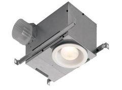Broan - Ventilation Fans LED Lighting - ENERGY STAR Qualified 70 CFM Recessed Bath Fan/Light