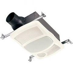Nutone - Ventilation Fans 100 CFM w/ 1500W Heater Bathroom Fan/Light/Heat with Directional Heater