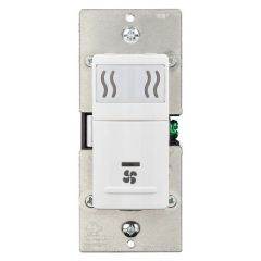 Nutone - Central Vacuum Systems Humidity-sensing Wall control for ventilation fans