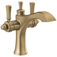 Delta - Dorval Two Handle Single Hole Monoblock Bathroom Faucet with Lever Handles