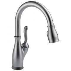 Delta - Leland VoiceIQ Single Handle Pull-Down Faucet with Touch20 Technology
