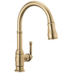 Delta - Broderick Single Handle Pull-Down Kitchen Faucet